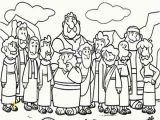 Last Supper Coloring Pages Printable Cartoon Od Jesus Disciples Coloring Page Coloring Sun