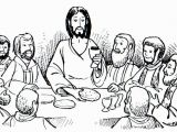 Last Supper Coloring Pages Printable the Last Supper Worksheets