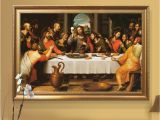 Last Supper Wall Mural Hand Painted the Last Supper Jesus Christ Religious Picture 20×36