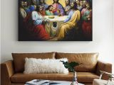 Last Supper Wall Mural Jesus Last Supper Paintings the Wall the Institution Of the