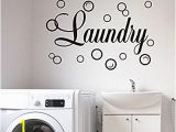 Laundry Room Wall Murals Amazon Moharwall Laundry Room Decal Quote Bubble