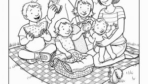 Lds Coloring Pages Family Prayer Coloring Pages