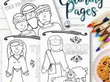 Lds Primary Christmas Coloring Pages New Testament Spot It