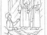 Lds Sunbeam Coloring Pages Primary 3 Lesson 5 the First Vision Coloring Page