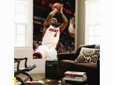 Lebron James Wall Mural 48×72 issac Baldizon Washington Wizards V Miami Heat Lebron