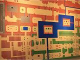 Legend Of Zelda Wall Mural Huge Over 4 Foot Long Wall Mural Of Zelda for the Nes Map
