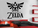 Legend Of Zelda Wall Mural Zelda Wall Decal Legend Zelda Poster Sign Emblem Vinyl Sticker Z