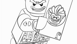 Lego Batman and Joker Coloring Pages the Lego Batman Movie Arkham asylum Joker Coloring Pages