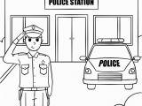 Lego City Police Station Coloring Pages Lego City Politie Kleurplaat Leuk Voor Kids Lego City