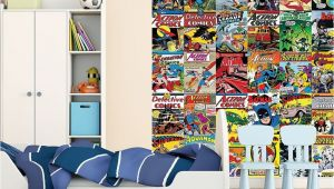 Lego City Wall Mural 1 Wall Wallpaper Mural Ics Batman Superman Wonder Woman the Flash