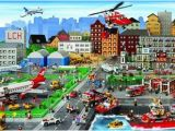 Lego City Wall Mural Lego City Poster