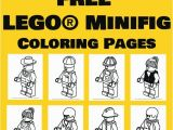 Lego Figure Coloring Page Free Lego Coloring Pages