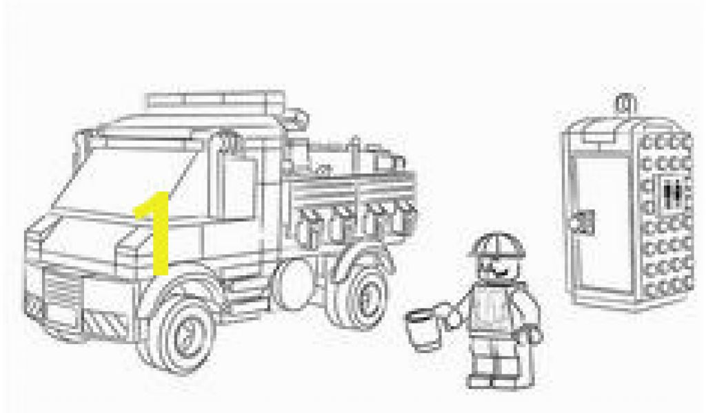 Lego Fire Truck Coloring Page 129 Best Coloring Pages Boys ...