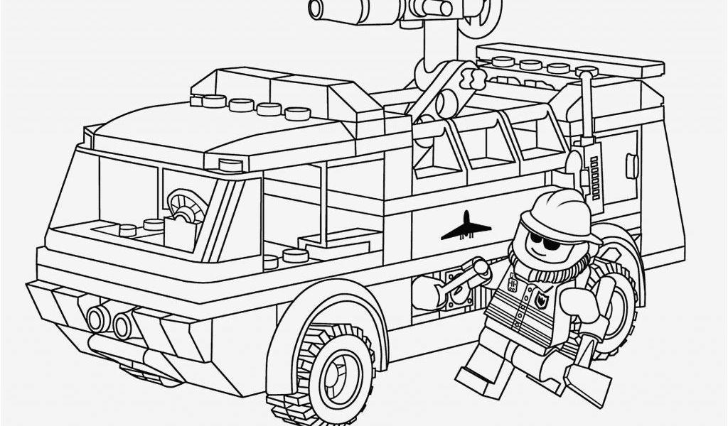 Lego Fire Truck Coloring Page 45 Schön Ausmalbilder Lego ...