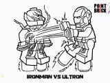 Lego Iron Man Coloring Pages to Print Disegno Da Colorare Per Bambini Lego Iron Man Vs Ultron