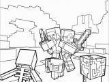 Lego Minecraft Coloring Pages Printable Fiesta De Minecraft Cumplea±os Infantil
