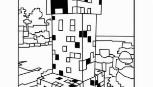 Lego Minecraft Coloring Pages Printable Minecraft Creeper Coloring Picture