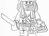 Lego Pirates Of the Caribbean Coloring Pages Lego Pirate Captain Jack Sparrow Coloring Page Free
