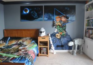Lego Star Wars Wall Murals Awesome Ideas Star Wars Wall Decor