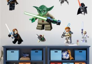 Lego Star Wars Wall Murals Lego Star Wars Yoda Vader Wall Sticker Removable Home Decal Art