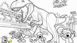 Lego T Rex Coloring Pages Printable Lego Jurassic World Coloring Sheets