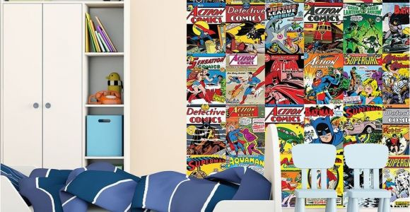 Lego Wall Murals 1 Wall Wallpaper Mural Ics Batman Superman Wonder Woman the Flash