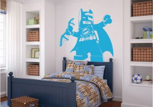 Lego Wall Murals Cartoon Lego Batman Wall Sticker Boys Room Baby Nursery Lego