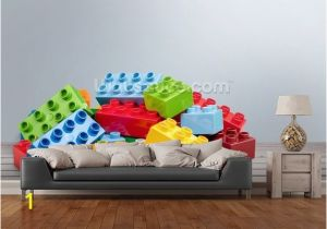 Lego Wall Murals Wall Mural In Room View