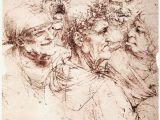 Leonardo Da Vinci Wall Murals Leonardo Da Vinci S Bizarre Caricatures & Monster Drawings