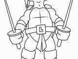 Leonardo Teenage Mutant Ninja Turtles Coloring Pages Leonardo with Swords Coloring Page Free Teenage Mutant