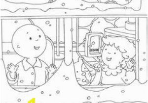 Let It Snow Coloring Pages 76 Best Caillou Coloring Fun Images On Pinterest