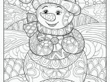 Let It Snow Coloring Pages Art Ed Central Loves to Color Snowmen Teaching Ideas