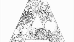 Letter A Coloring Pages for Adults 10 Best Coloring Pages for Adults Letter A Best Coloring
