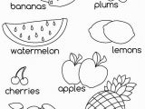 Letter A for Apple Coloring Pages Fruit for Kids Az Coloring Pages