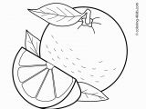 Letter A for Apple Coloring Pages orange Fruits Coloring Pages for Kids Printable Free