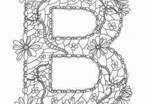 Letter Coloring Pages for Adults Coloring Page for Adults Adult Coloring Pages Patterns Best Page