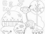 Letter G Coloring Pages for toddlers Coloring Page for Kids Alphabet Set Letter G Stock