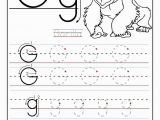 Letter G Coloring Pages for toddlers Free Traceable Alphabet Worksheets Gorilla