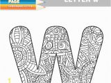 Letter M Coloring Pages for Adults Adult Coloring Book Lower Case Letters Hand Drawn Template