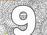 Letter M Coloring Pages for Adults Numbers Coloring Page Doodle Stock Illustration Download