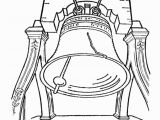 Liberty Bell Coloring Page Symbols Unitd States Coloring Pages Coloring Home