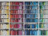 Library Book Wallpaper Mural Library Wallpaper Colourful Knowledge P W Photo Wallpaper