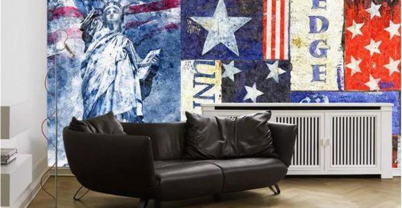 Life Size Wall Murals Custom Size 3d Wallpaper Living Room Mural National Flag