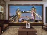 Life Size Wall Murals Custom Size 3d Wallpaper Livingroom Mural European Style tower