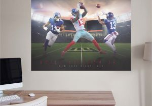 Life Size Wall Murals Odell Beckham Jr Montage Mural Giant Ficially Licensed Nfl