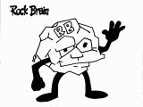 Life Skills Coloring Pages Rock Brain Coloring Page Team Unthinkables Superflex social