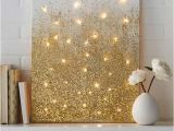 Light Up Wall Murals 40 Brilliantly Gold Diy Projects Easy Crafts Pinterest