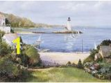 Lighthouse Cove Wall Mural 446 Best Full Size Wall Murals Images