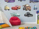 Lightning Mcqueen Wall Stickers Mural Cars Collection X Ficially Licensed Disney Pixar Removable Wall Decals