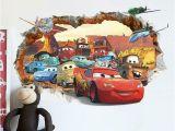 Lightning Mcqueen Wall Stickers Mural Pixar Cars 2 3 Sticker Lightning Mcqueen Mater Pvc